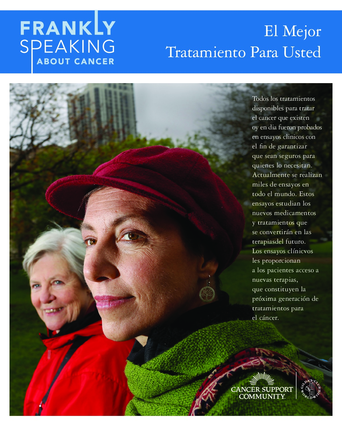 Clinical Trials Booklet (Spanish)