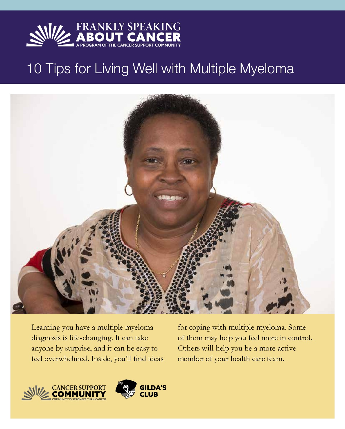 10 Tips for Living Well with Multiple Myeloma