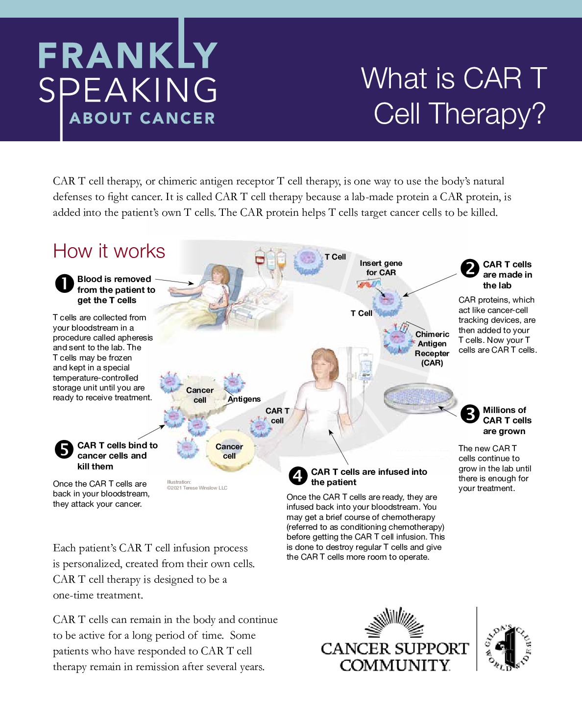 What is CAR T Cell Therapy