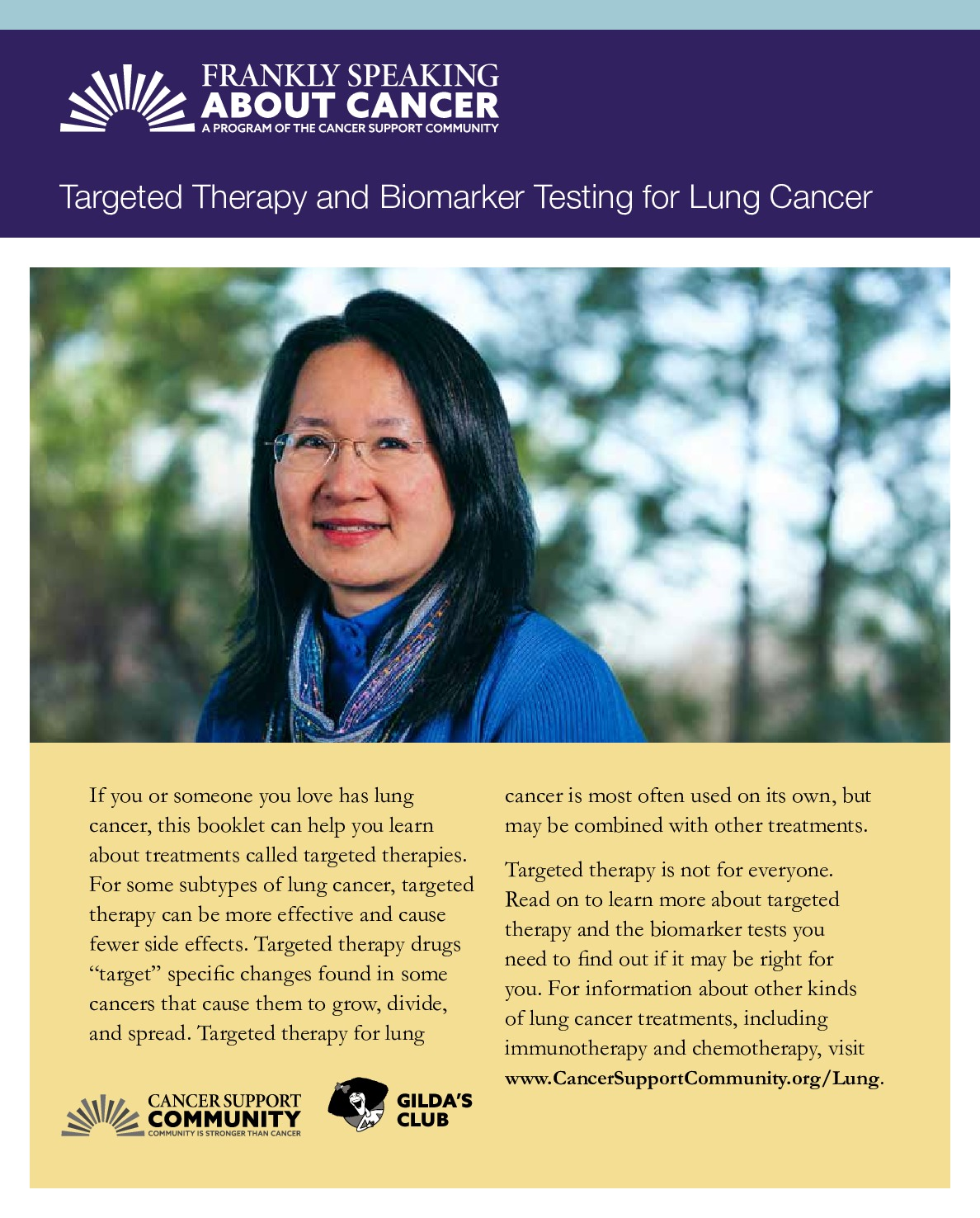 Targeted Therapy and Biomarker Testing for Lung Cancer