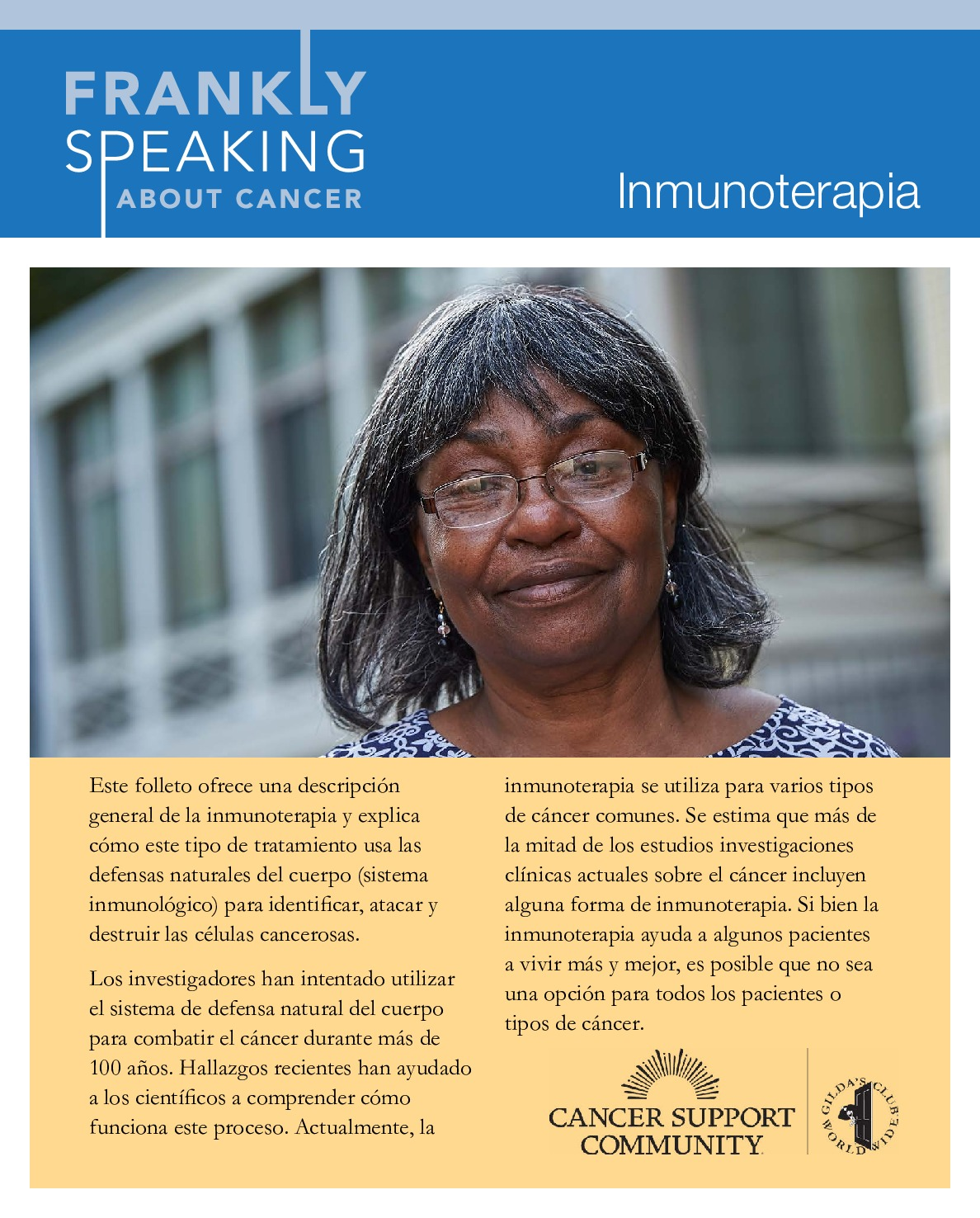 Immunotherapy Overview (Spanish)