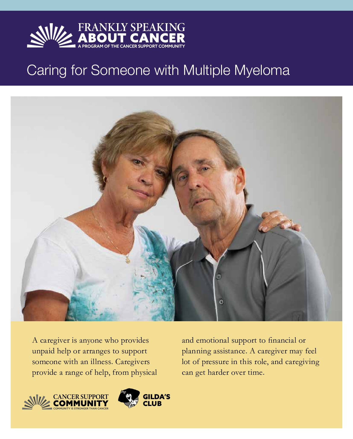 Caring for Someone with Multiple Myeloma
