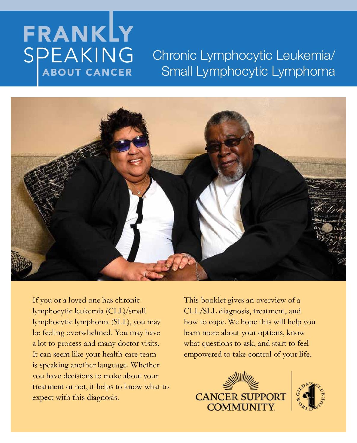 Chronic Lymphocytic Leukemia/Small Lymphocytic Lymphoma