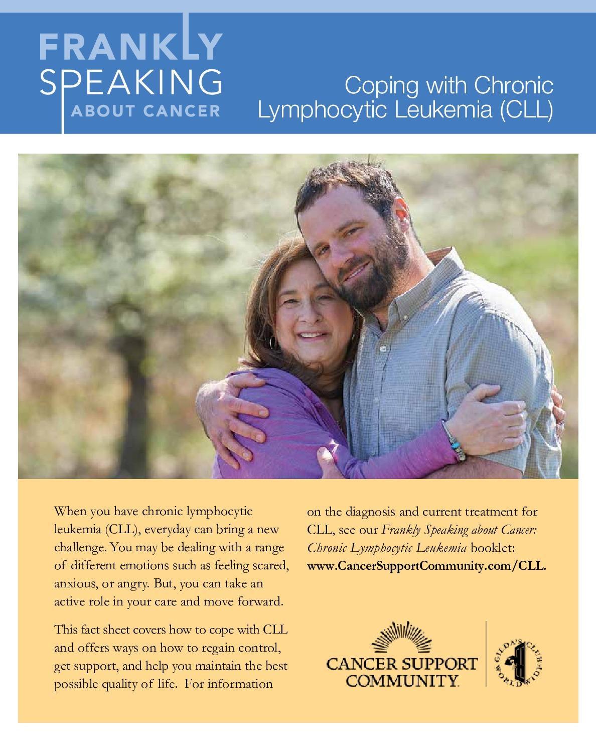 Coping with Chronic Lymphocytic Leukemia (CLL)