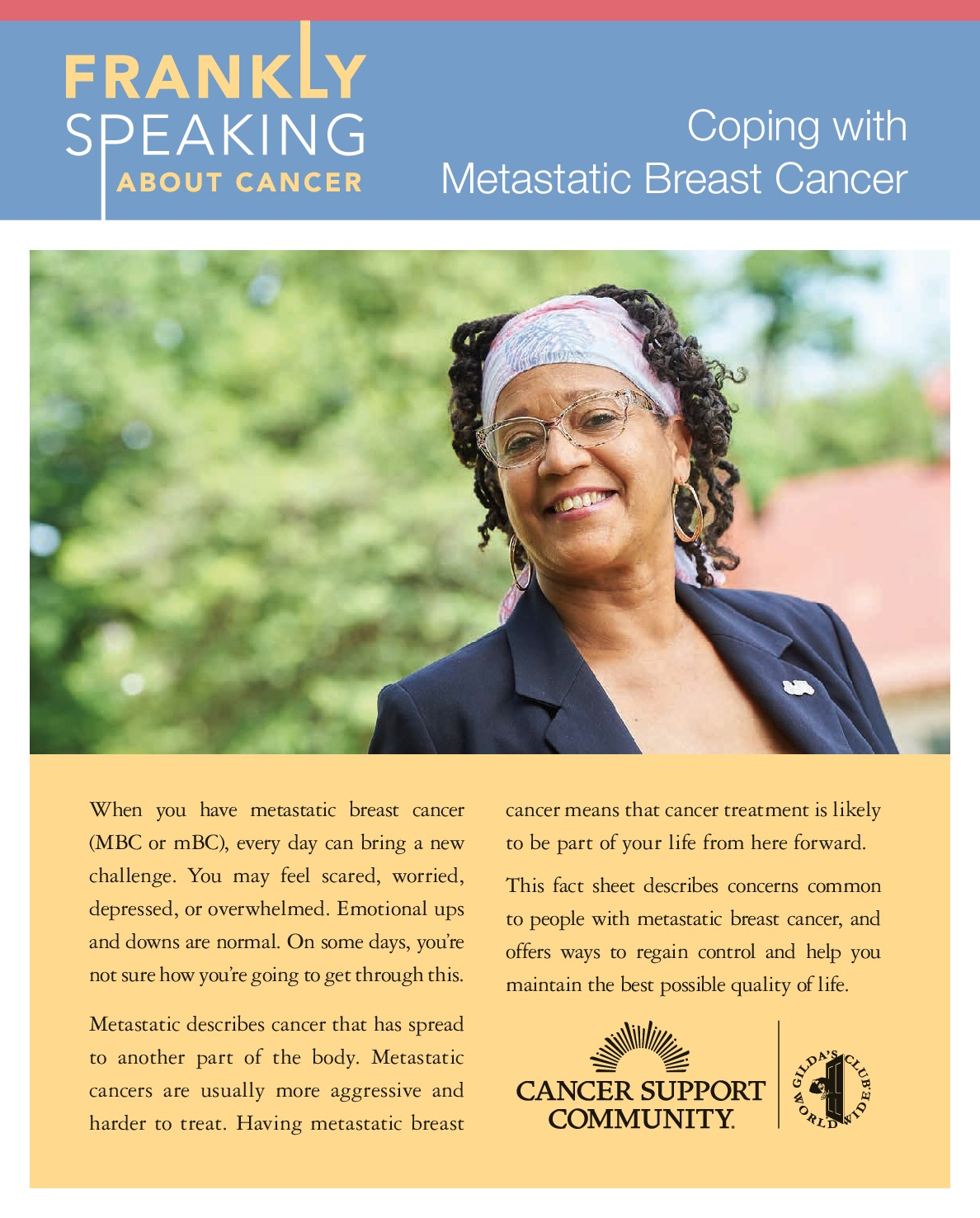 Coping with Metastatic Breast Cancer
