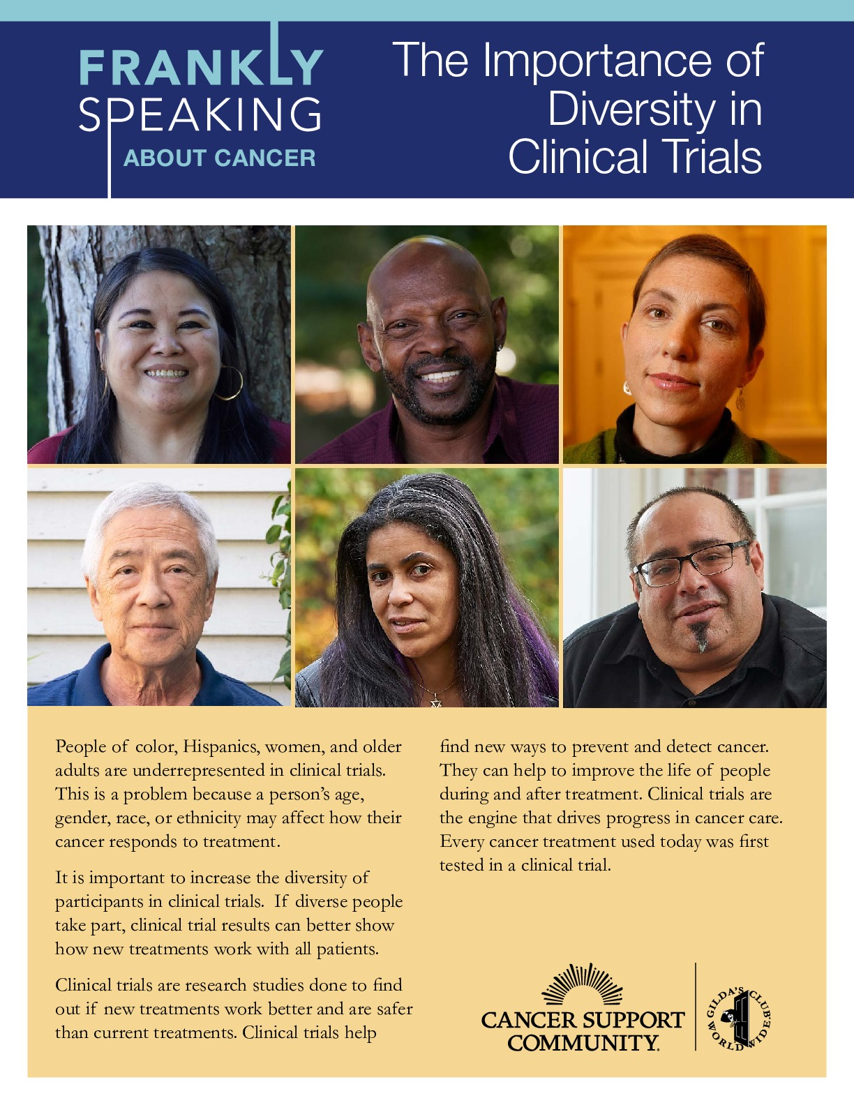 The Importance of Diversity in Clinical Trials