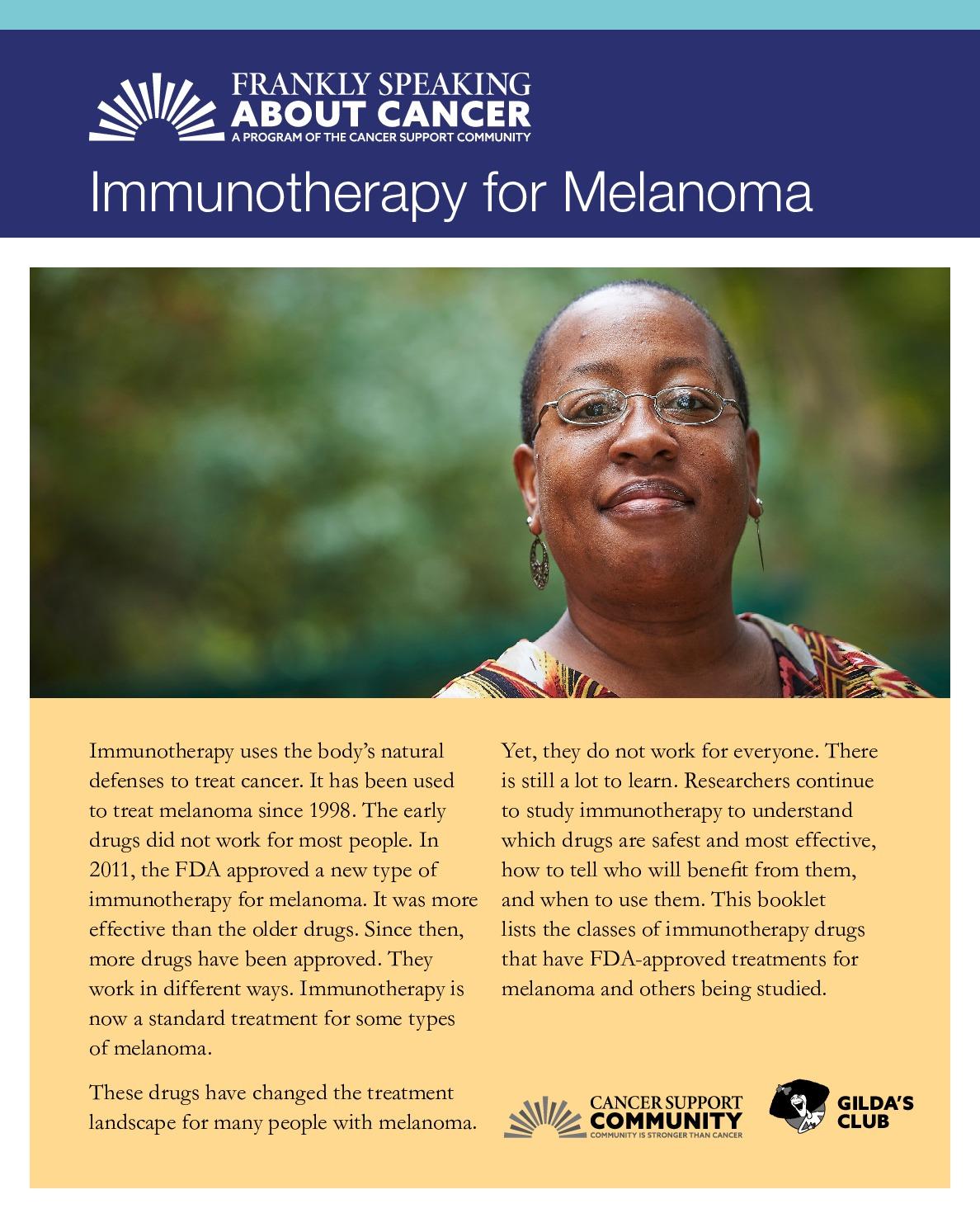 Immunotherapy for Melanoma