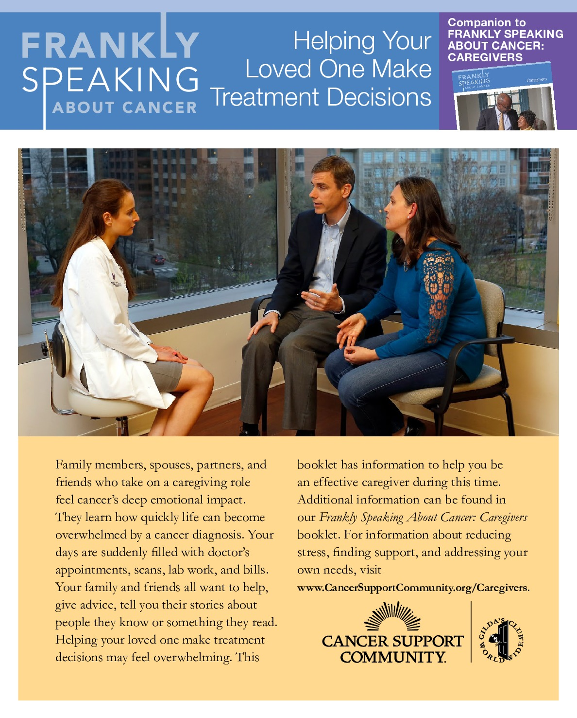 Helping Your Loved One Make Treatment Decisions