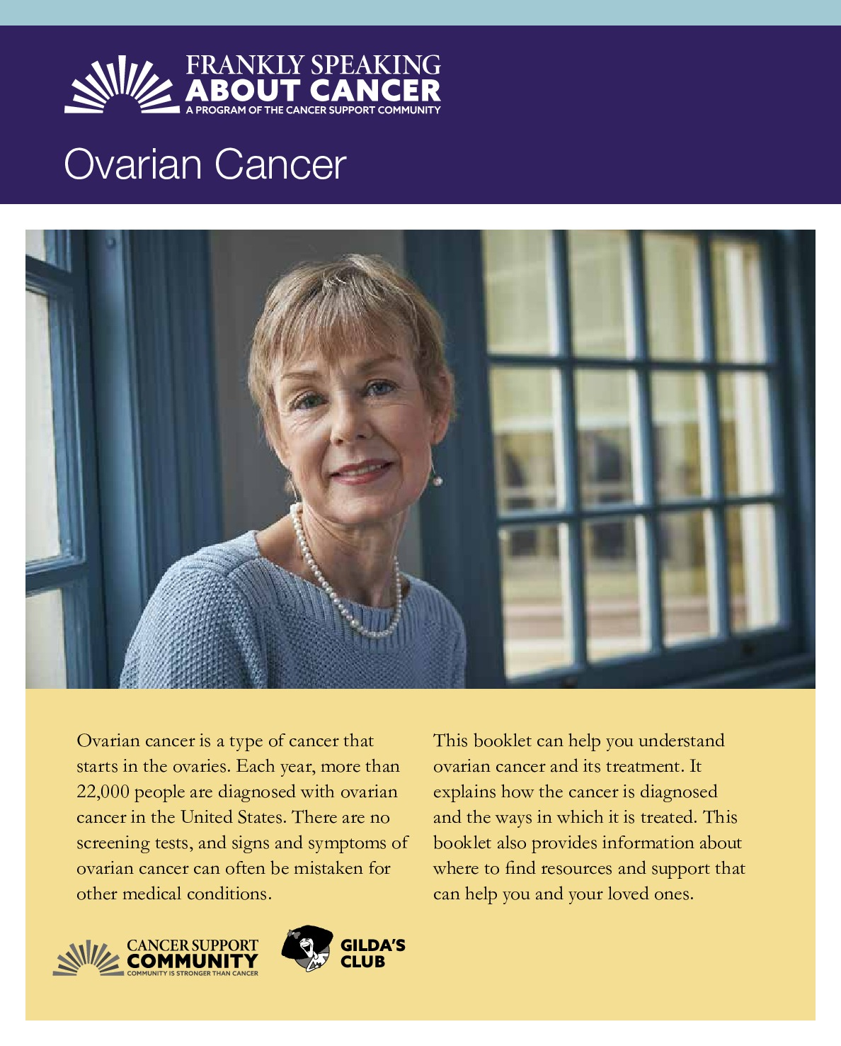 Frankly Speaking About Cancer: Ovarian Cancer