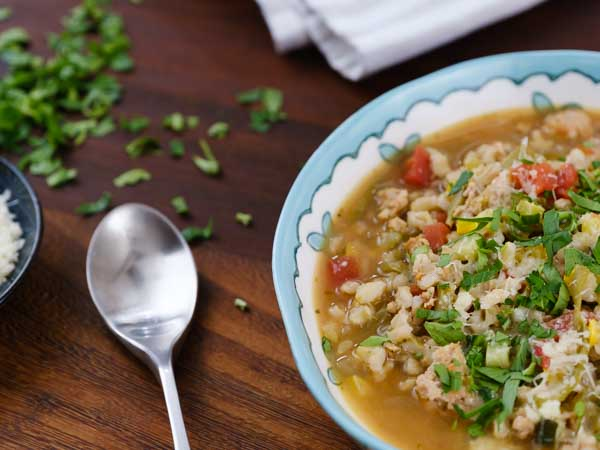 Turkey and Barley Vegetable Soup