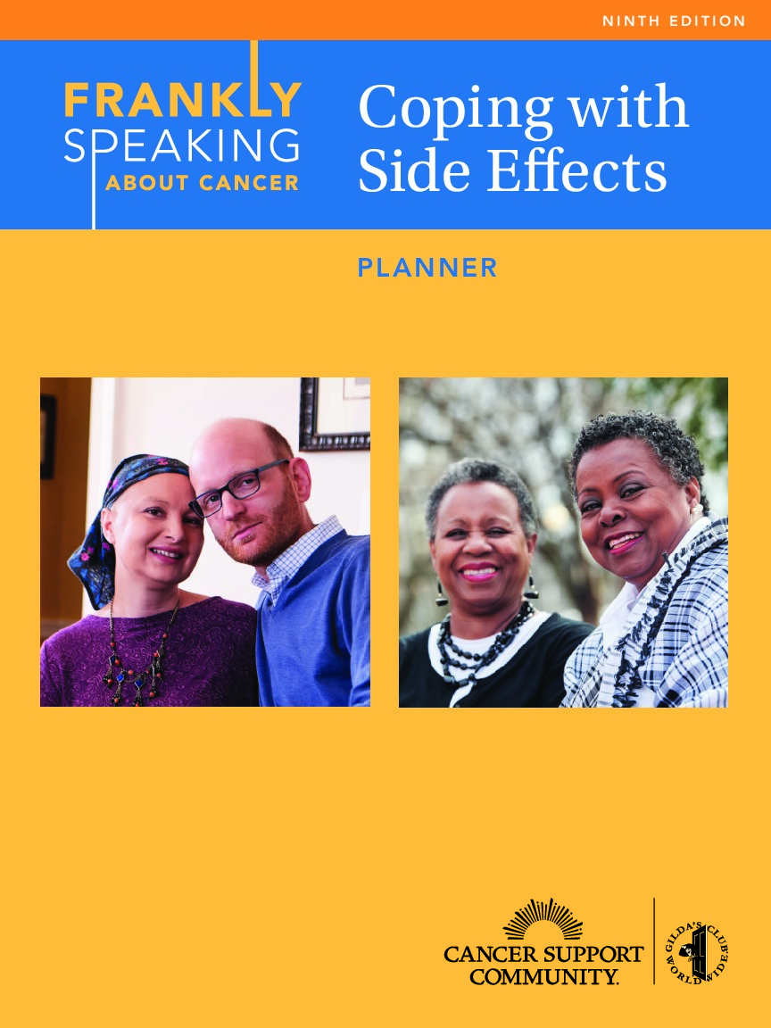FSAC Coping with Side Effects Planner