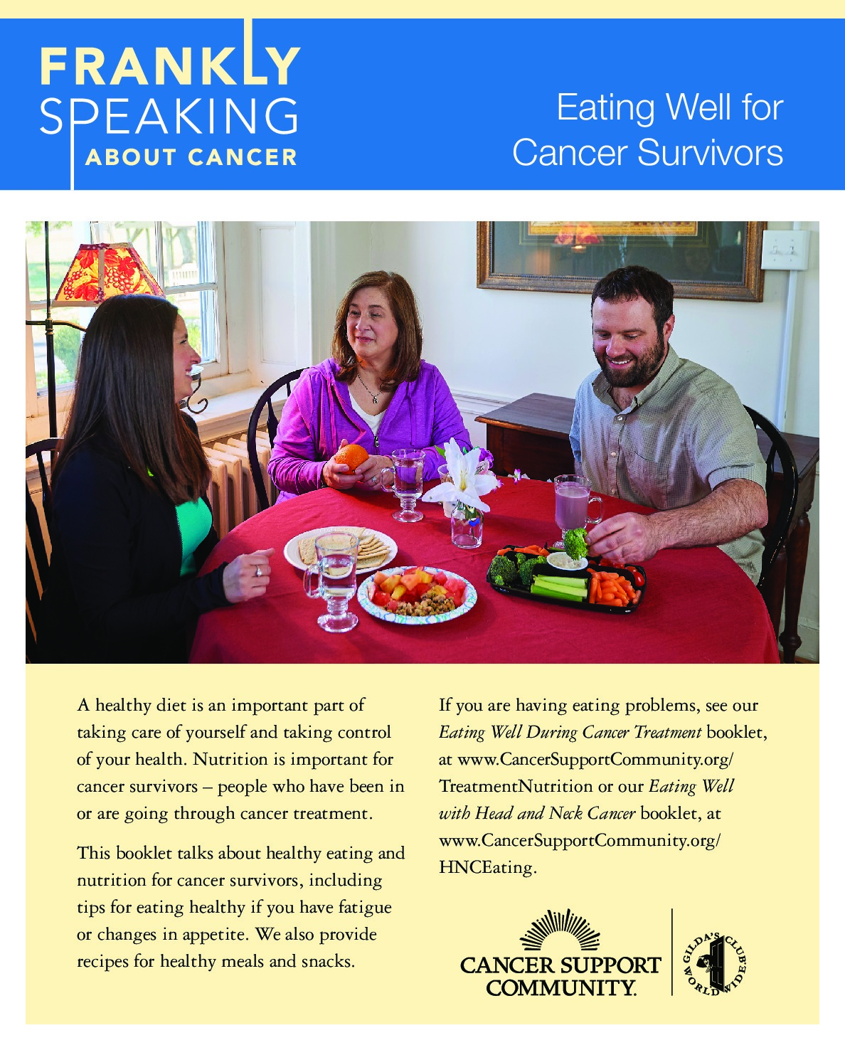 Frankly Speaking About Cancer: Eating Well for Cancer Survivors