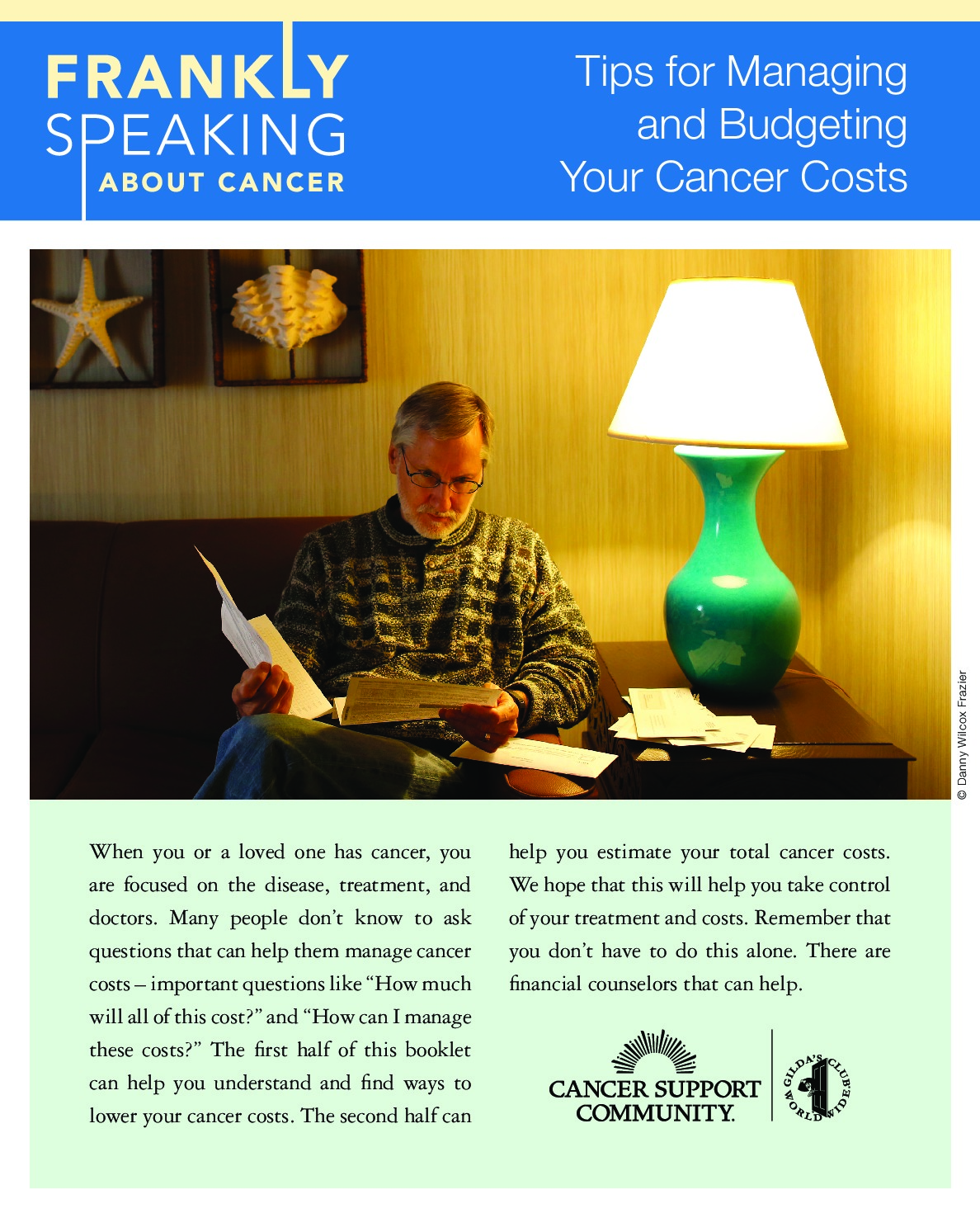 Tips for Managing and Budgeting Your Cancer Costs Booklet