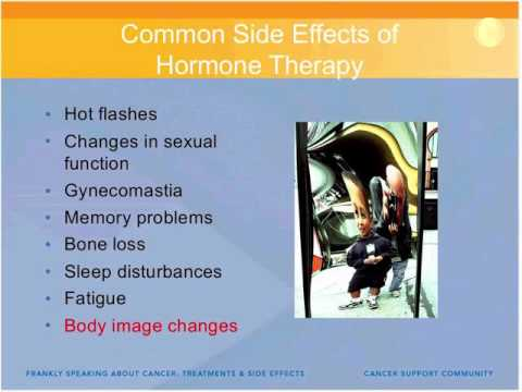 Coping with Hormone Therapy Side Effects