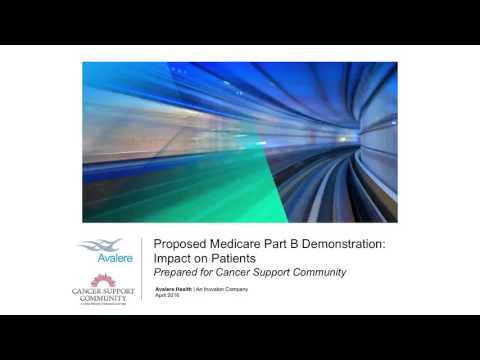 Audio Recording: Medicare Part B and the Patient Impact