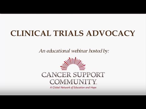 Clinical Trials Advocacy