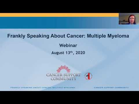 Frankly Speaking About Cancer: Multiple Myeloma
