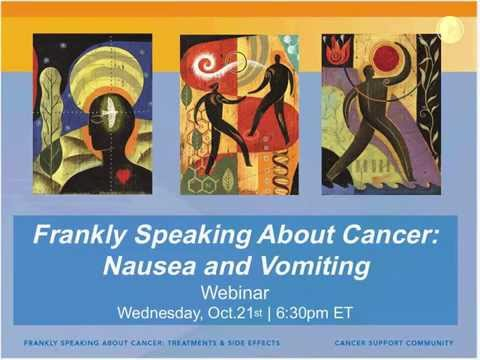 Coping with Nausea & Vomiting