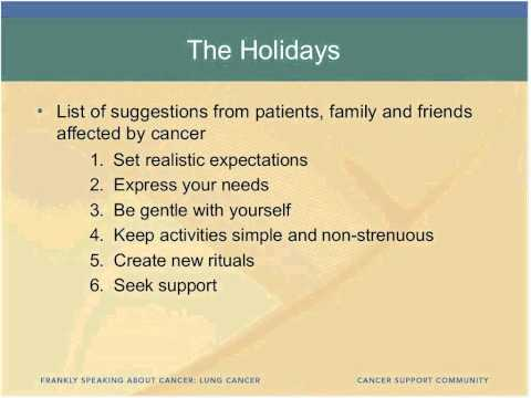 Addressing the Needs of Lung Cancer Caregivers
