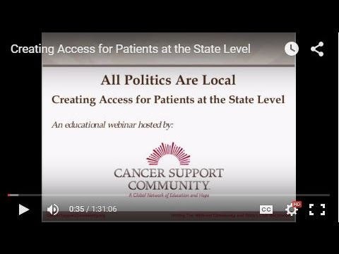 Creating Access for Patients at the State Level