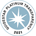 2021 Guidestar Transparency Platinum Seal logo