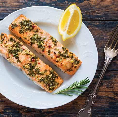 Herbed Lemon Salmon