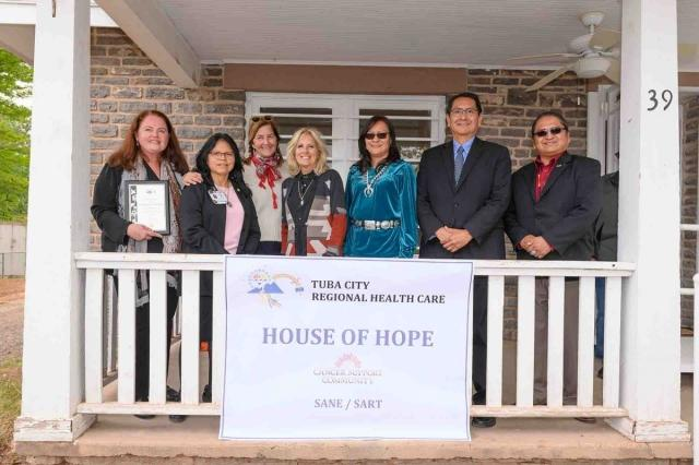 Leaders of the Navajo Nation, the Tuba City Regional Health Care Corporation (TCRHCC), and the Cancer Support Community (CSC)
