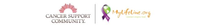 Cancer Support Community and MyLifeLine.org logos