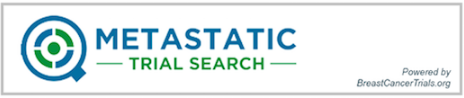 Metastatic Trial Search logo